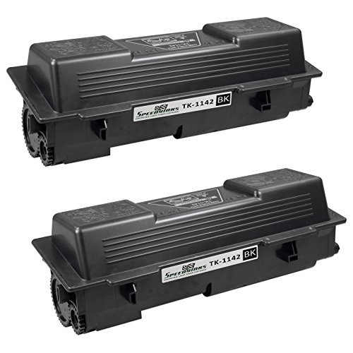 Speedy Inks - 2 Pack Compatible Kyocera-Mita Black TK-1142 Laser Toner Cartridge For use in FS-1135 MFP and FS-1035 MFP