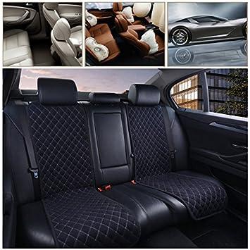Car Seat Cushion Cover 1PC AUTOYOUTH Beige Breathable Comfortable Car Cushion Universal Four Seasons Car Seat Protector Cotton Velvet Cloth