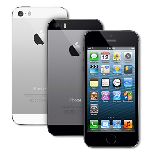 Apple iPhone 5S 16GB GSM Unlocked, Space Gray (Renewed) ()