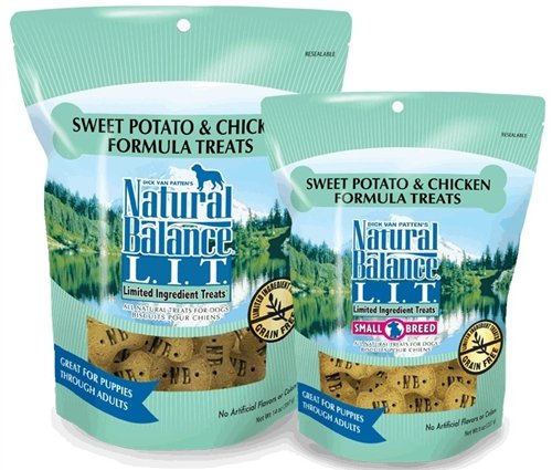 Natural Balance 723633622080 L.I.T. Limited Ingredient Treats Sweet Potato & Chicken 8oz For Sale