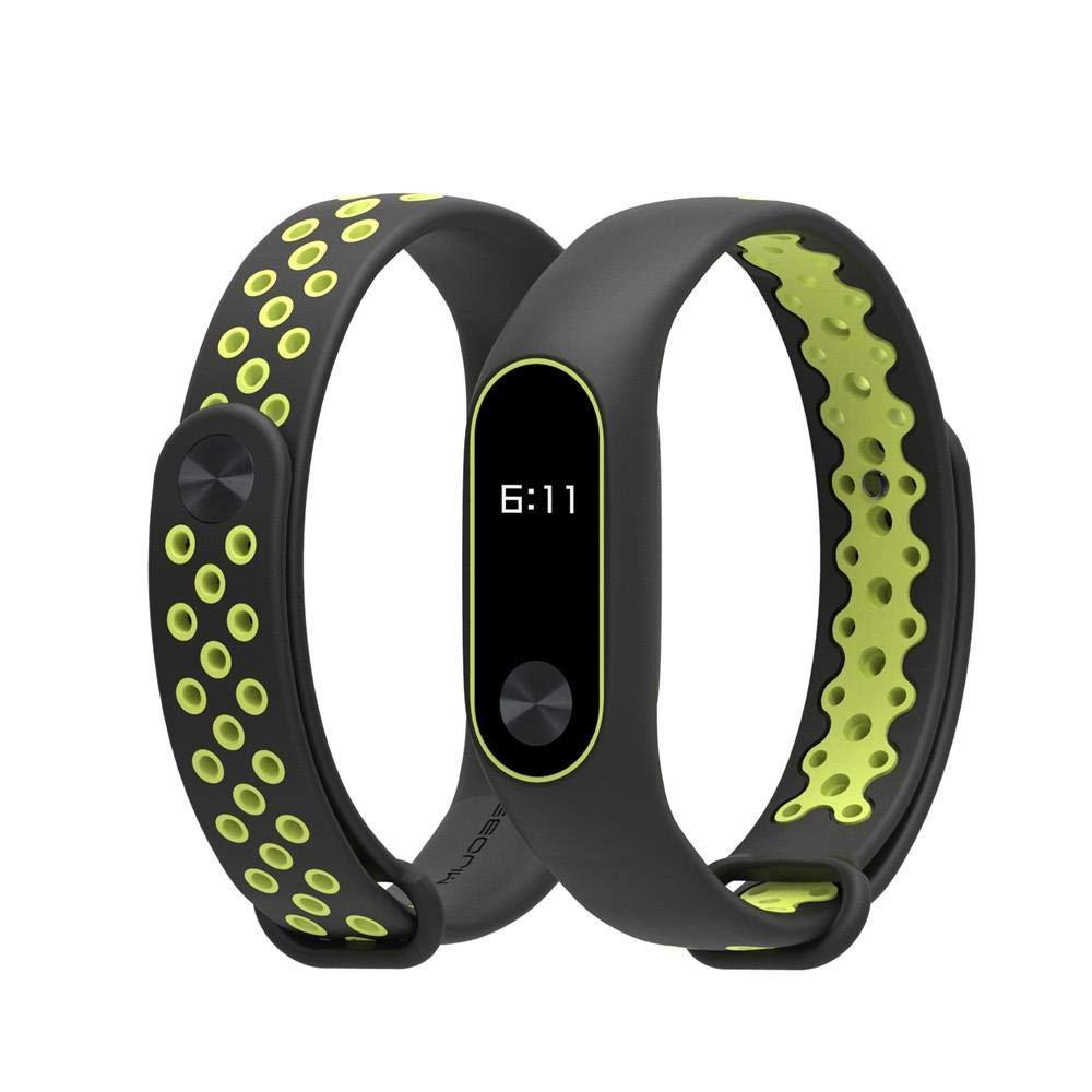 Correas para xiaomi Band 2, ☀️Modaworld Durable Pulsera Deportiva TPU de Repuesto para Xiaomi Mi Band 2 Correa de Reloj Elegante Reemplazo de Bandas para ...