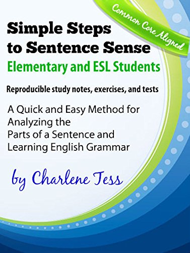 - Simple Steps to Sentence Sense for Elementary and ESL Students