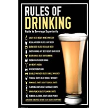 Rules of Drinking Guide To Beverage Superiority Funny Poster 22x34