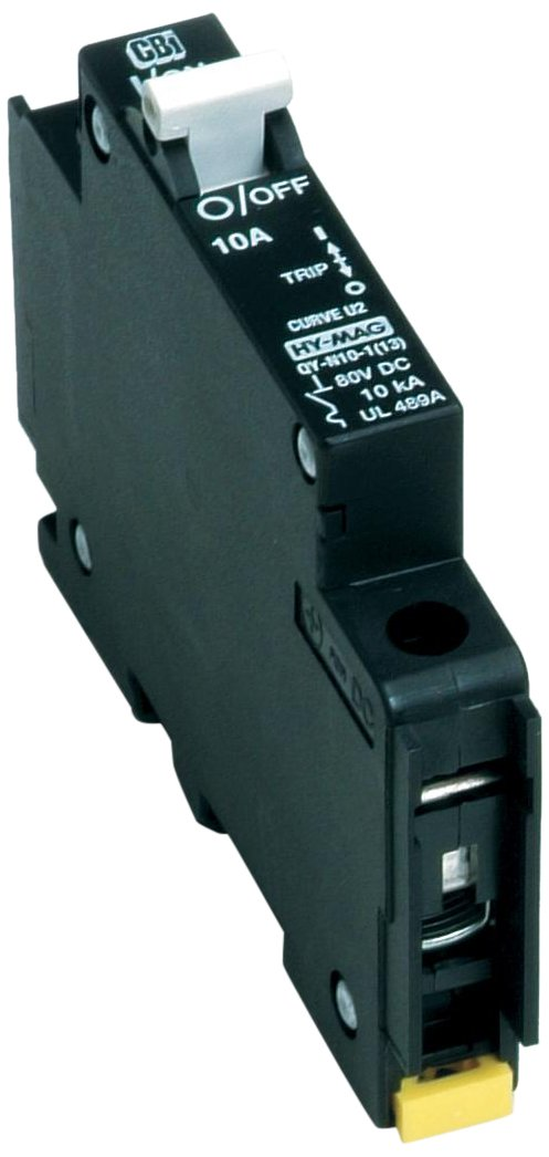 American Electrical C20A1P-80VDC 20-Amp 1-Pole DIN Rail Mounted Circuit Breaker by American Electrical B00TIKBYIA