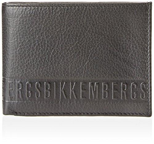 BIKKEMBERGS Wallet Man Black - 6AD3705DD0101 (Bikkembergs Shoes Men)