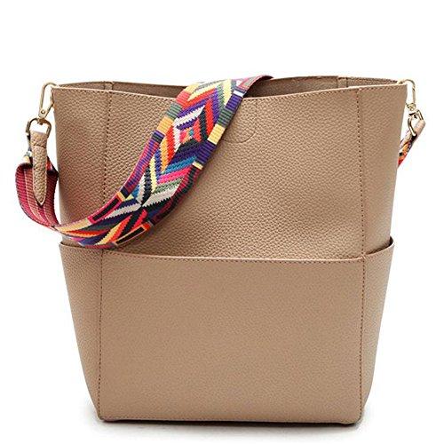 JIARUO Designer Leather Shoulder Handbag product image