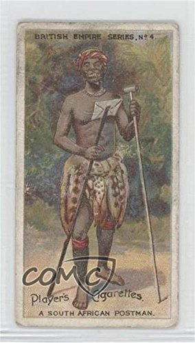 The South African Postman Ungraded COMC Good to VG-EX (Trading Card) 1904 Player's British Empire Series - Tobacco [Base] -
