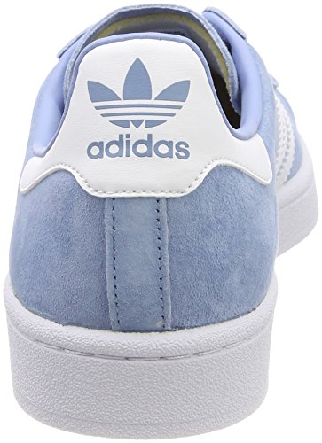 Adidas Originals Vrouwen Campus Suede As Blauw Sneakers As Blauw / Wit