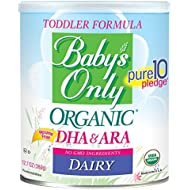 Baby's Only Organic Dairy with DHA & ARA Formula, 12.7...