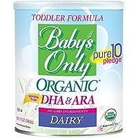 Fórmula de Lácteo Orgánico Baby's Only, 12.7 onzas