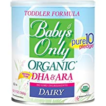 Baby's Only Organic Dairy with DHA & ARA Formula, 12.7 Ounce (Pack of 6)