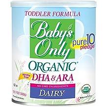 Baby 's Only bebé orgánico Productos Lácteos Fórmula con DHA y ARA, 12,7oz regalo–6Pk por Baby' s Only
