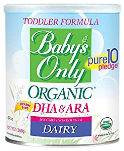 Baby S Only Organic Dairy With Dha Amp Ara Formula 12 7