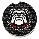 CounterArt University of Georgia Bulldogs Individual Fan Car Coaster