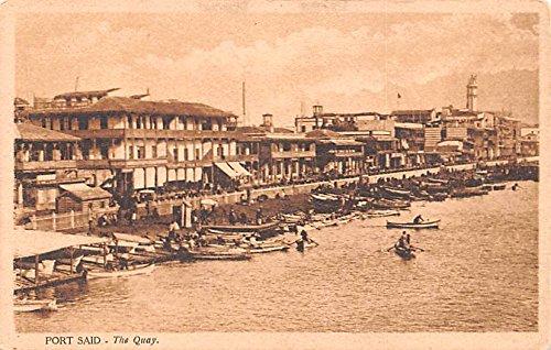 The Quay Port Said Egypt, Egypte, Africa - Usa Quay