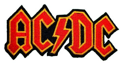 AC DC ACDC Songs Music Band t Shirts Logo MA07 iron on Patches]()