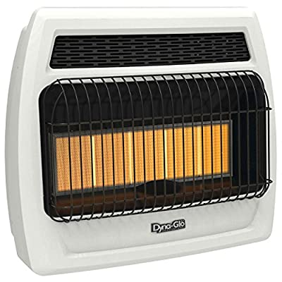 Dyna Glo IRSS30NGT-2N 30000 Btu NG Infrared Vent Free T-Stat Wall Heater