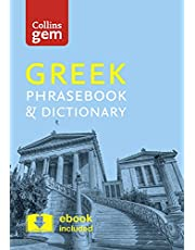 Collins Greek Phrasebook and Dictionary Gem Edition: Essential phrases and words in a mini, travel-sized format