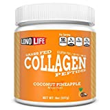 LonoLife Coconut Pineapple Collagen Peptides with 10g Protein, 8-Ounce Bulk Container