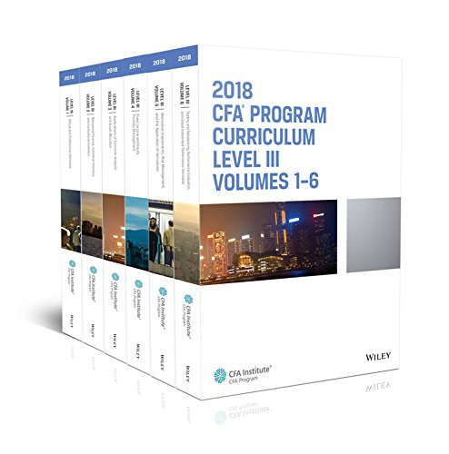 CFA Program Curriculum 2018 Level III Volumes 1-6 Box Set (CFA Curriculum 2018)
