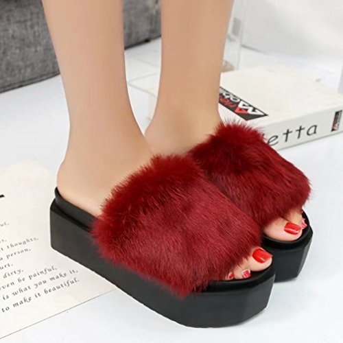 Deporte Sandalias De Bajos Solapa Gruesos TWGDH Con Zapatillas Zapatos Mujeres Red Verano Sxqdpc8