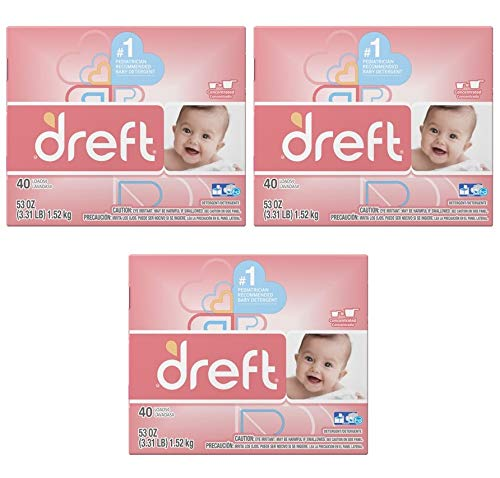 Dreft Baby Original Scent Powder Laundry