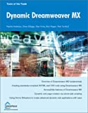 Dynamic Dreamweaver MX, Andrew, Rachel and Elbaga, Omar, 1590591704