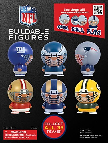 NFL FOOTBALL Buildable (12 count)