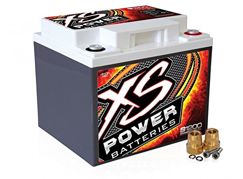 XS Power S1200 'S Series' 12V 2,600 Amp AGM Automotive Starting Battery with Terminal