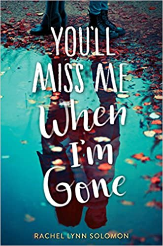 Image result for you'll miss me when i'm gone book