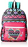 Trailmaker Girls' Heart Light up Backpack, Pink