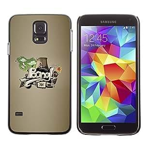 GagaDesign Phone Accessories: Hard Case Cover for Samsung Galaxy S5 - Bang graffiti Abstract Art