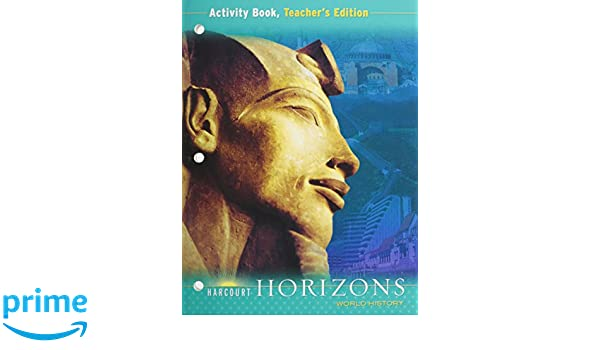 Amazon harcourt horizons world history activity book amazon harcourt horizons world history activity book teachers edition 9780153380433 harcourt school publishers books fandeluxe Choice Image