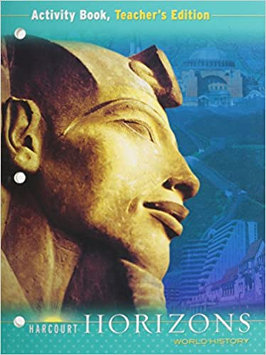 Amazon harcourt horizons world history activity book harcourt horizons world history activity book teachers edition 1st edition fandeluxe Images