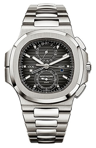 Patek Philippe Nautilus Travel Time Chronograph Stainless Steel Watch 5990/1A-001