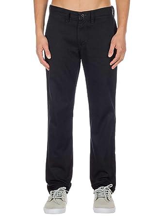 81867a6d89d Vans Authentic Chino Stretch Pants Black  Vans  Amazon.co.uk  Clothing