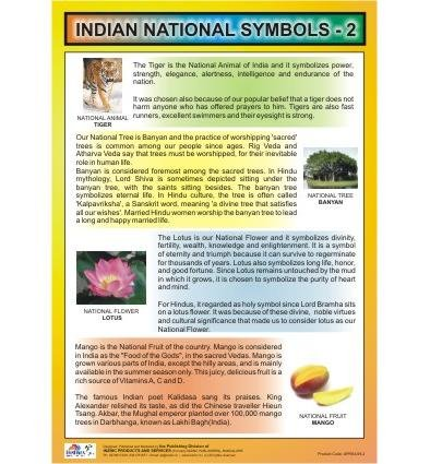 Buy Indian National Symbols Chart 2 Book Online At Low Prices In