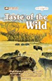 Taste of the Wild Dry Dog Food, Hi Prairie Canine Formula with Roasted Bison and Venison, 15-Pound Bag