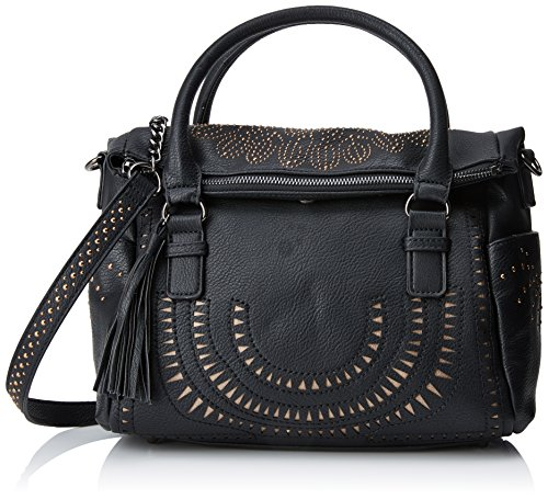 Desigual Borsa Passion LOVERTY Nero (Negro)