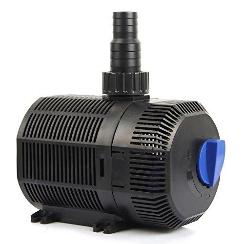 Forever Speed Eco Bomba para Estanque Bomba de filtro Bomba de arroyo Bomba de agua 2300L/H 35 W