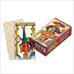 Marseille Tarot w/Instructions - Tarot de Marsella con ...
