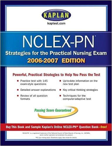 Kaplan NCLEX PN Strategies and Review (Kaplan NCLEX-PN Exam