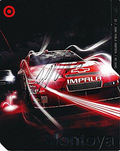 Montoya Target - AUTOGRAPHED 2010 Juan Pablo Montoya #42 Target Racing Team (Ganassi) Signed Picture NASCAR Hero Card with COA