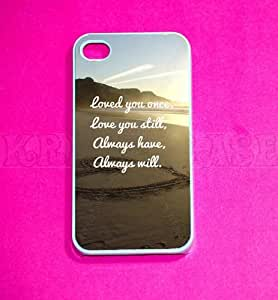 Love Quote, iPhone 4 Case - For iPhone 4 and iPhone 4S