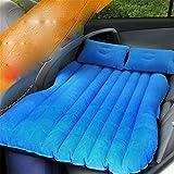 STAZSX Car air mattress, rear bed, inflatable cushion, car travel bed, blue