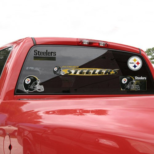"Pittsburgh Steelers 11"" x 17"" Jumbo Ultra Decal Set"