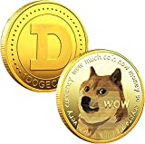 1oz Gold Dogecoin Commemorative Coin Gold Plated