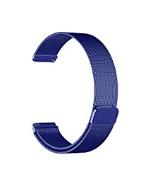 Rykimte Universal Watch Band 20mm/22mm (Pls Choose The Size) For Samsung Gear S3 Frontier / Classic / Gear 2 Classic / Pebble Time Steel / MOTO 360 2nd Gen Watch / Pebble Round / Ticwatch 2 & Others