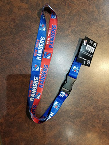 WinCraft NHL New York Rangers Lanyard with Detachable Buckle, ()