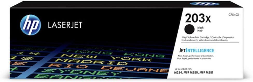 HP CF540X (203X) Toner Black, 3.2K Pages